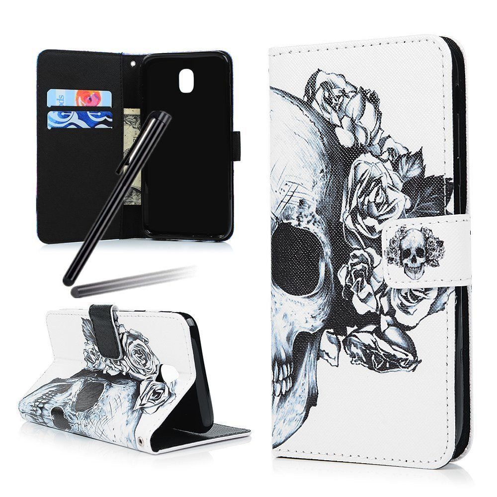 iPhone 6S Case, iPhone 6 Case, iPhone 6 Wallet Cover, Flip Stand Case for iPhone 6 / 6S, SKYMARS PU Leather Shock Absorbing Bumper Art Painting Flip Folio Kickstand Cards Slot Wallet Magnetic Closure Protection Book Style Case for iPhone 6 / 6S 4.7 inch Bl