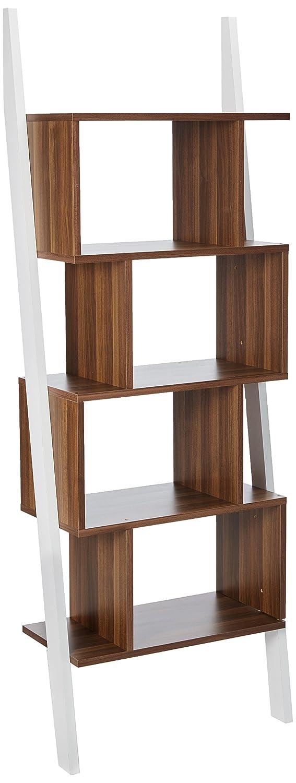 247SHOPATHOME YNJ-140-8 bookcases, Walnut Furniture of America