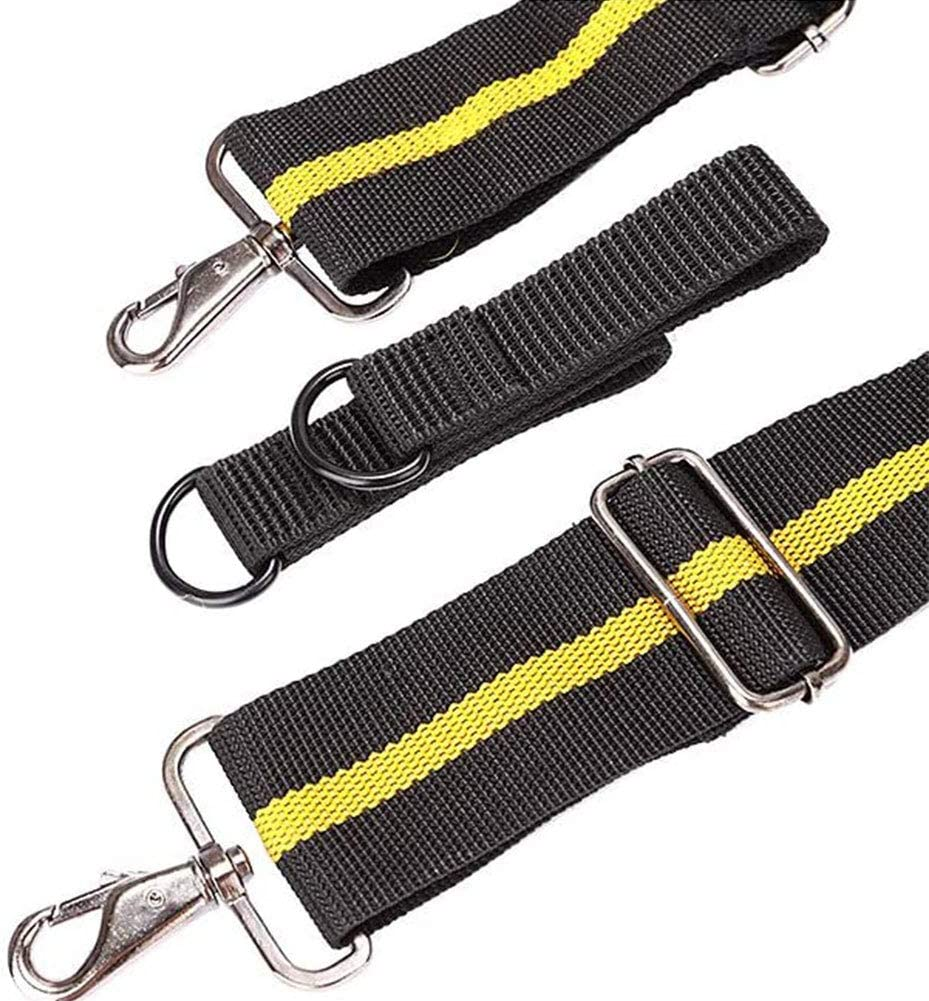 Lightweight and Flexible. Tool Belt Suspenders for Heavy Duty,Tooling Strap with Pockets for Tools,Durable