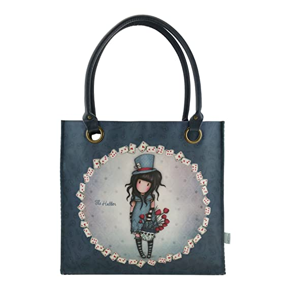 fde56ea273 Gorjuss Sac shopping The Hatter: Amazon.fr: Vêtements et accessoires