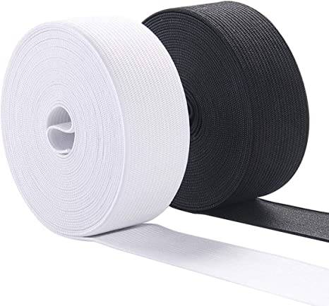 Amazon Com Elastic Bands For Sewing 1 Inch Wide Elastic Fabric