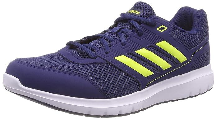 adidas Duramo LITE 2.0 Sneakers Herren Blau mit gelben Streifen