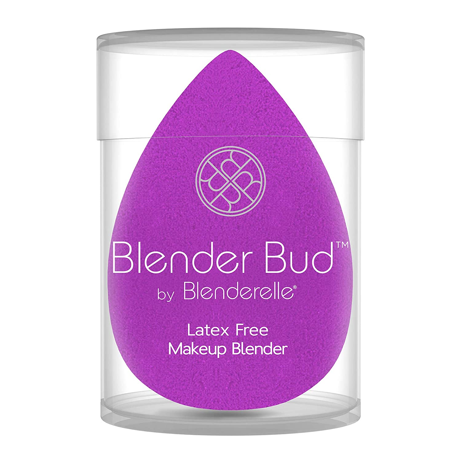 Blender Bud Makeup blender sponge airbrush finish latex free super soft (Purple)