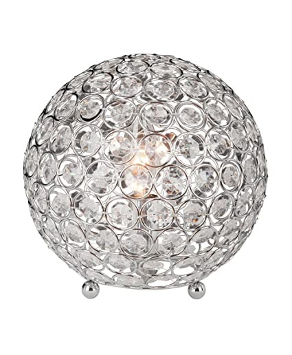 Art Deco Chrome Sphere Ball Form Table Lamps Table Lamps