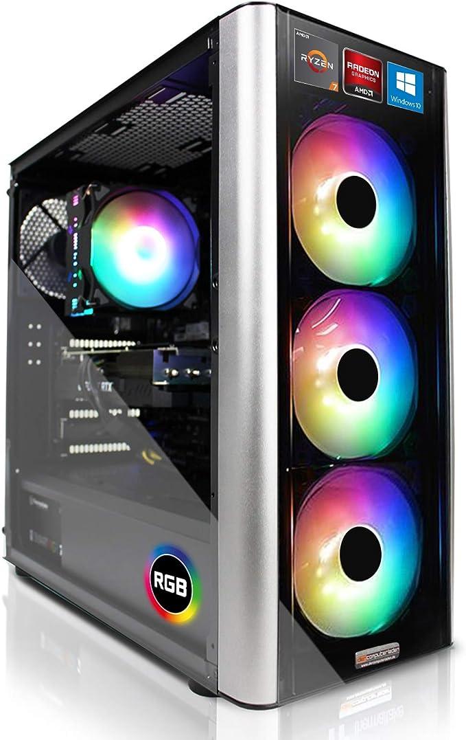 RGB Gaming PC 5800X