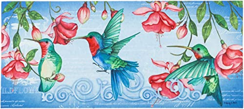 Evergreen Flag Hummingbirds Sassafras Switch Mat – 22 x 1 x 10 Inches