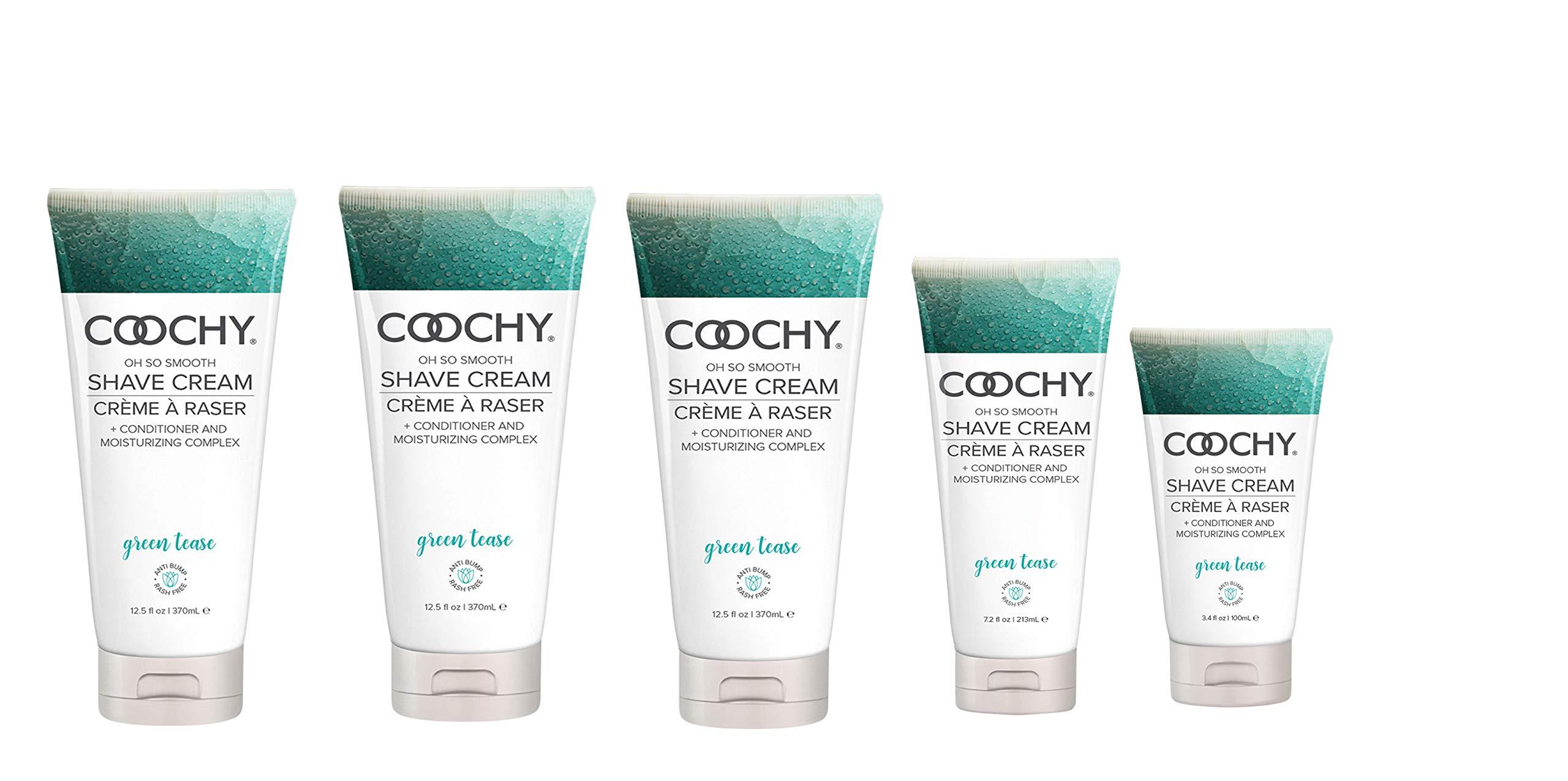 Coochy Rash-free Shave Creme Green Tea 16 Fl. Oz. 3-Pack