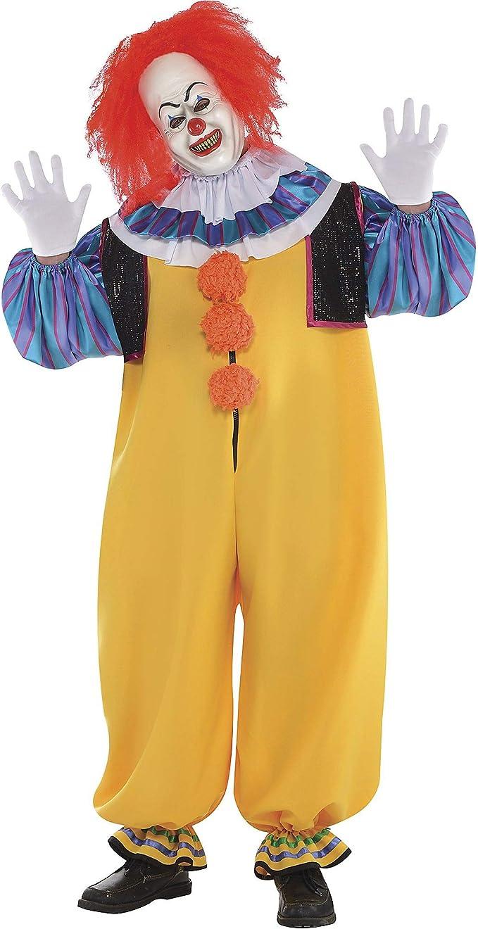 SUIT YOURSELF Disfraz de Pennywise para Adultos, Talla Grande ...