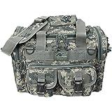 Mens Nexpak Duffle Duffel Outdoor Hiking Molle Tactical Shoulder Strap Bag + Flashlight