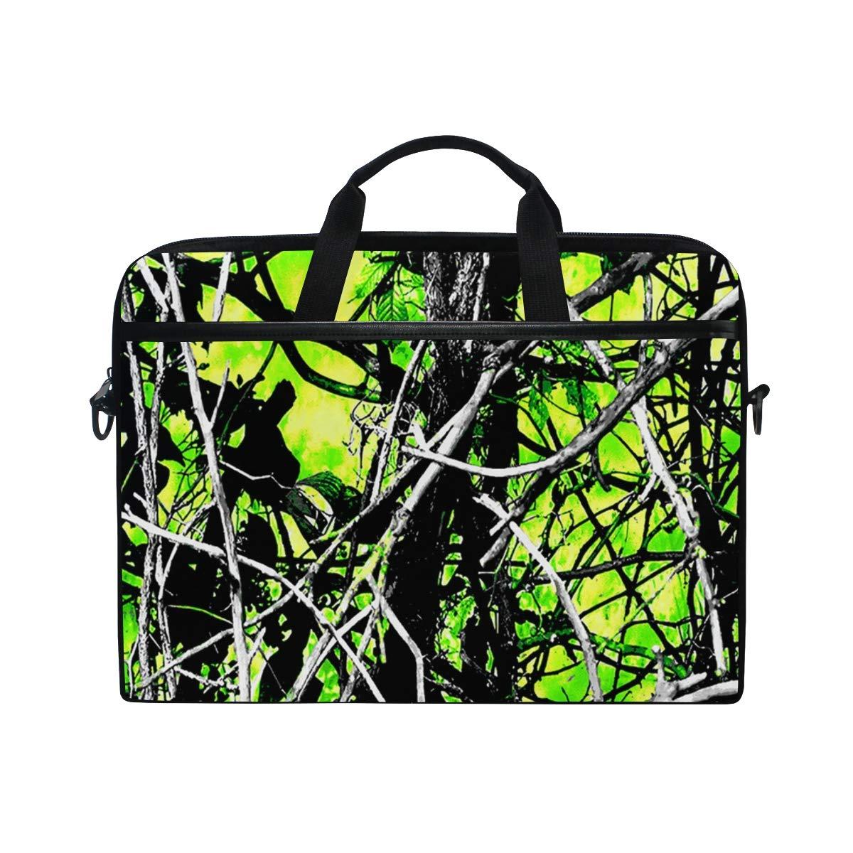 09effd933db1 Amazon.com: Muddy Girl Camo Green Athletic Laptop Bag Travel ...