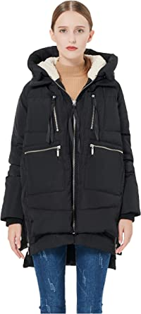 Amazon Com Orolay Women S Thickened Down Jacket Clothing