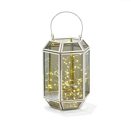 Amazon Com Decorative Geometric Terrarium Lantern Rectangle