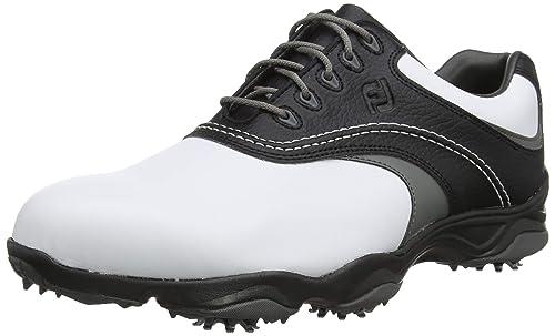 b4123ba0b1a95 Footjoy Men's Fj Originals Golf Shoes, White (Blanco/Negro/Gris ...