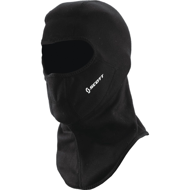 Scott Open Balaclava motocicleta/bicicleta/máscara de esquí negro