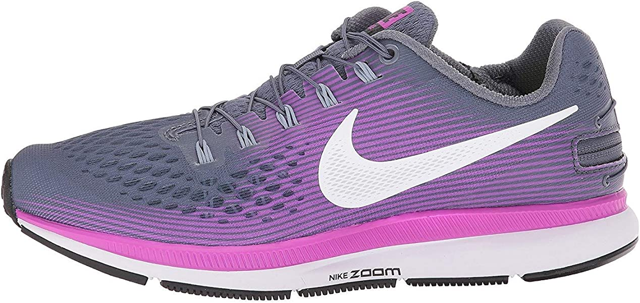 24b68adcae86 Nike Women s Air Zoom Pegasus 34 Flyease Running Shoe (6 W US