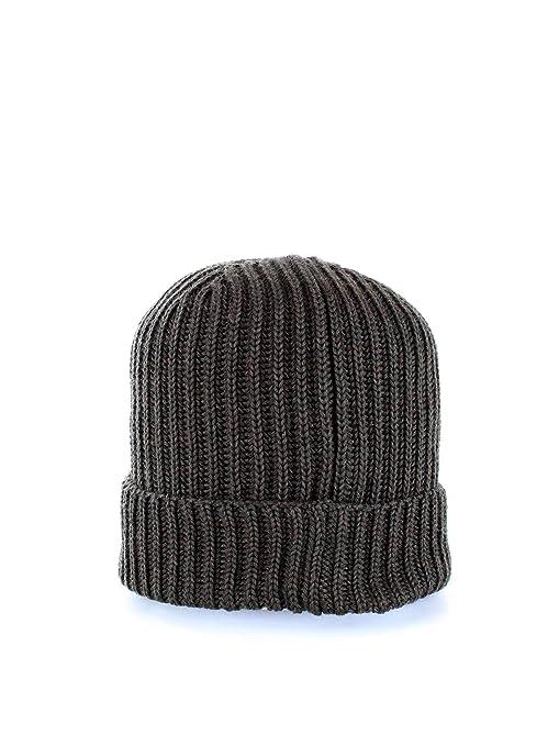 468996778 C.P. Company Mens Goggle Lense Beanie, Ribbed Dark Olive Hat O/S ...