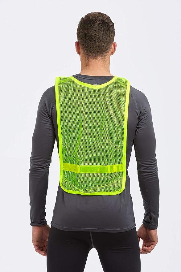 Time To Run Chaleco de Running Reflectante Alta Visibilidad-3 ...