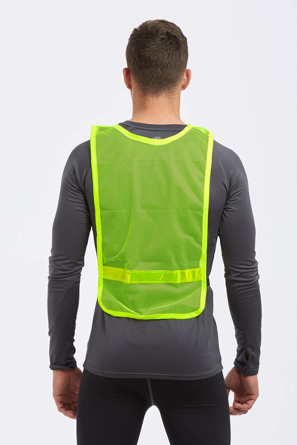 Safety Clothing Security & Protection Objective Black Safety Vest High Visibility Breathable Mesh Pvc Tape Outdoor Clothes With Traditional Methods