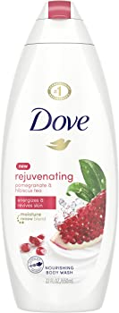 Dove go fresh Body Wash, Pomegranate and Lemon Verbena, 22 oz