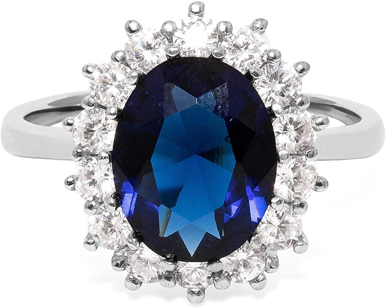 Toller 925 Sterling Silber Ring X Optik Weißer Zirkonia Signiert BEE 1,775 cm