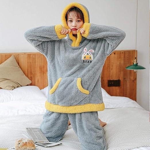 Bayrick Pijamas Mujer Invierno Polar,Chándal Pikachu de Franela ...