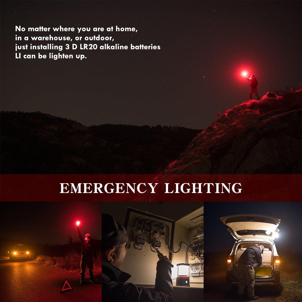 Amazon.com: weltool Portable LED Linterna de camping luz ...