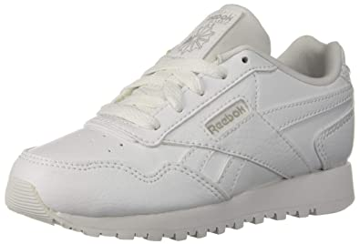 77ed5805c57ae Reebok Classic Harman Run Kids Sneaker US-WHITE/STEEL Little