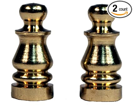 Amazon creative hobbies ely505 solid brass finial for lamp creative hobbies ely505 solid brass finial for lamp shades 1 inch tall pack of mozeypictures Gallery