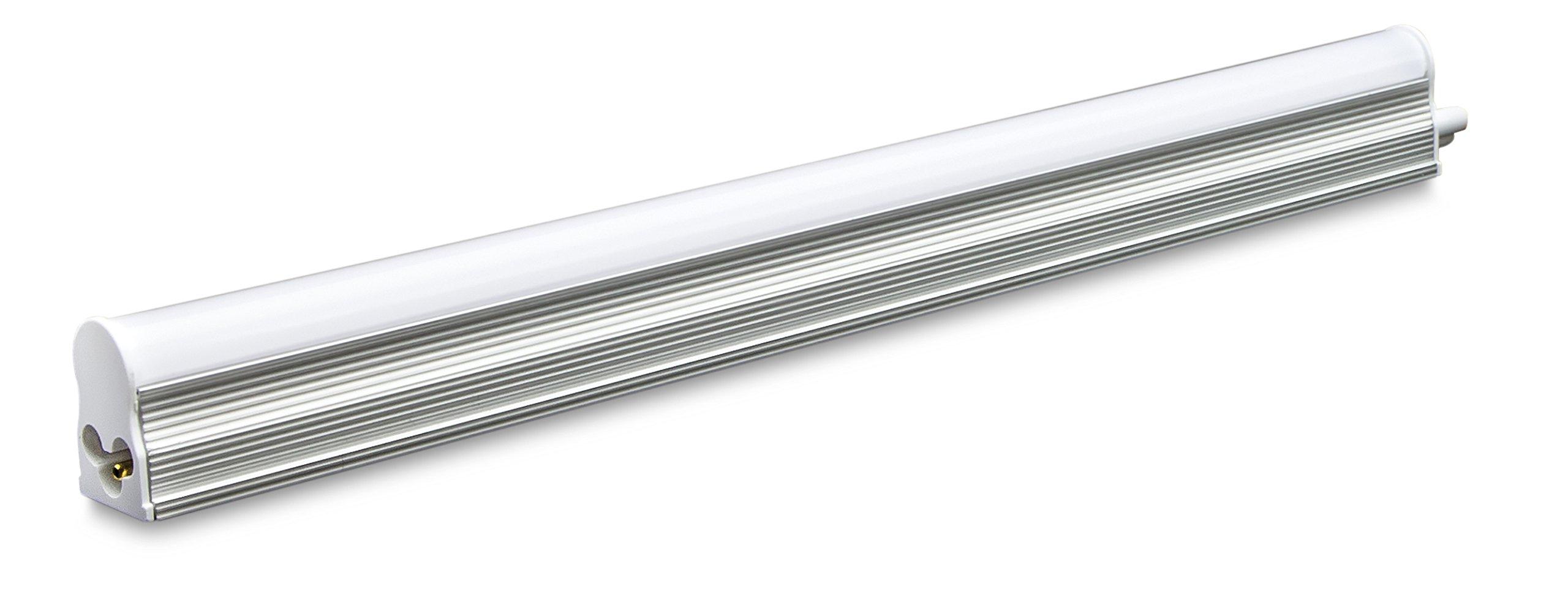 Forest Lighting T5N130 3000K 5W LED Integrated T5 Tube Light (40 Pack), 1' by Forest Lighting