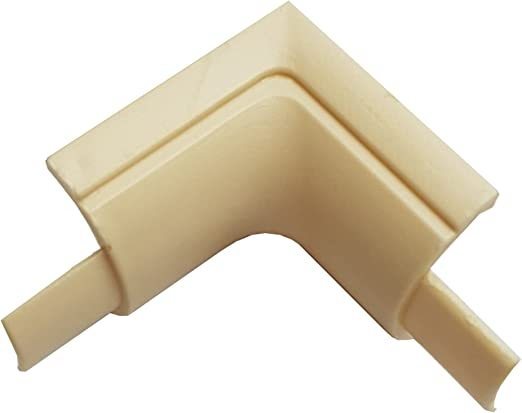 2x 1m AV//TV Wall 2m - 16x8mm Magnolia Speaker Cable Trunking//Conduit Cover