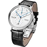 Men's Wristwatches FEICE Bauhaus Automatic Mechanical Watch with Domed Mirror Waterproof Big face Dress Watches for Men…