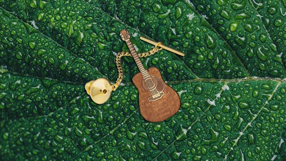 B079FBK7GG Martin D-45 Acoustic Guitar Tie Tack 71T2Be7tS2zL