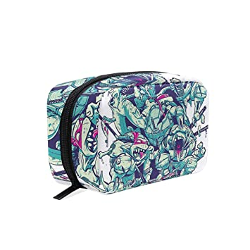 Cosmetic Bag Portable and Suitable for Travel ... - Amazon.com