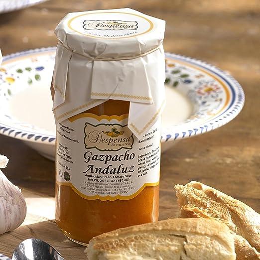 Despensa la nuestra todos los Gazpacho naturales Andaluz (24 ...