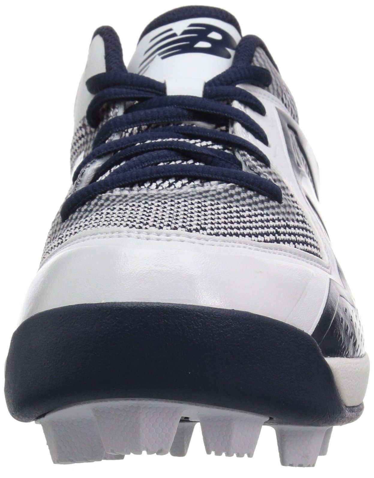 New Balance Boys' 4040v4, Navy/White, 1 W US Little Kid by New Balance (Image #4)