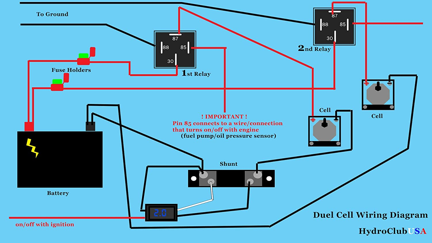 Hho Relay Wiring Diagram - Wiring Diagrams Schematics