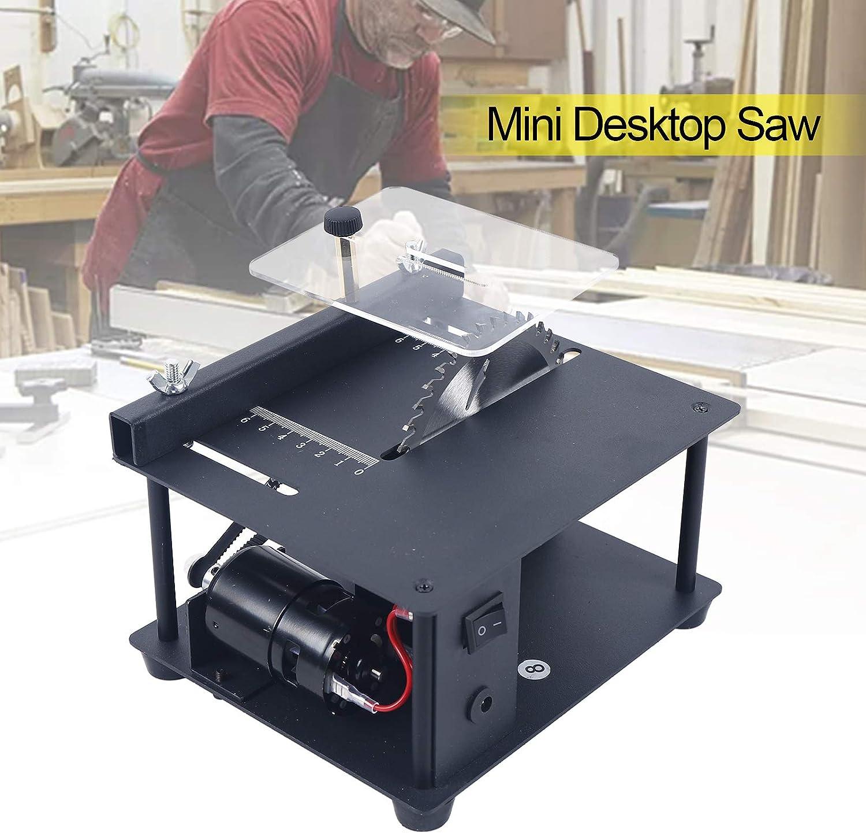 Mini Desktop Saw Cutting Machine Small Household Table Saw for DIY ...