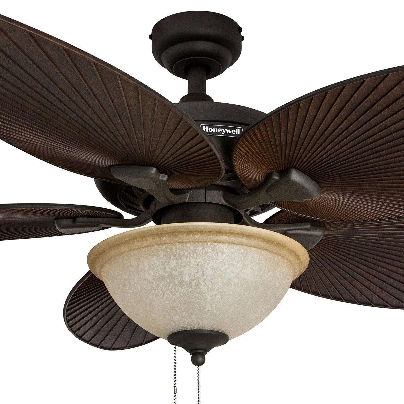 Honeywell Palm Island 52 Inch Tropical Ceiling Fan with Sunset