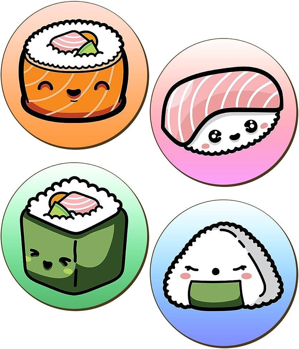 Grindstore - Pack de posavasos modelo sushi Kawaii (Talla Única ...