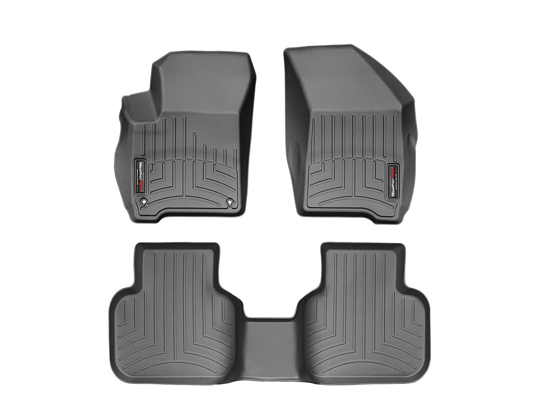 WeatherTech Custom Fit Rear FloorLiner for Dodge Journey Black