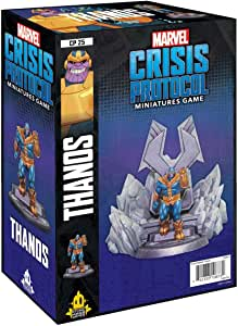 Atomic Mass Marvel: Crisis Protocol - Thanos Expansion Pack: Amazon.es: Juguetes y juegos