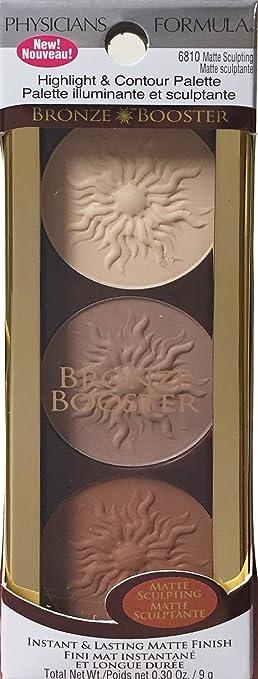 Amazon.com : Physicians Formula Bronze Booster Highlight U0026 Contour Palette,  Matte Sculpting Palette, 0.3 Ounce : Beauty