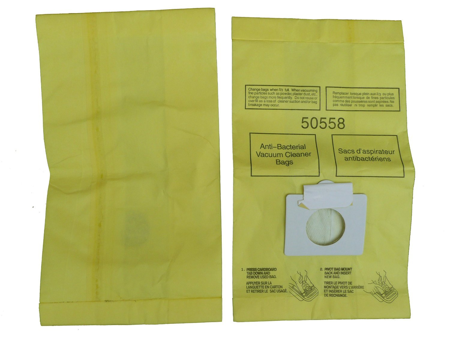 kenmore vacuum bags. amazon.com - 6 envirocare type c vacuum bags to fit kenmore canister cleaners, panasonic mc-v150m, 20-50558, mc-v9600 thru v9699, e