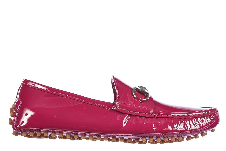 Gucci Mocasines en Piel Mujer Crystal Pintar Fuxia EU 40 258200 BNCE0 5523: Amazon.es: Zapatos y complementos