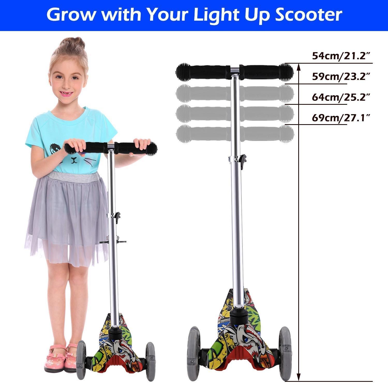 Rampmu Y Fliker Scooter, Flicker Wiggle Scooter para niños ...