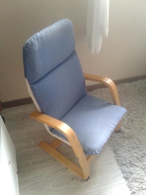Ikea POÄNG - Niños-s sillón, Chapa de Abedul, Almas ...