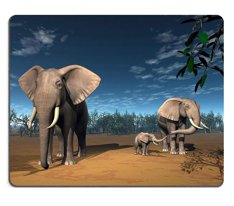 象のふくらはぎ用マウスパッド 260*210*3 mm B07L9F86R3 Fl17 260*210*3 mm