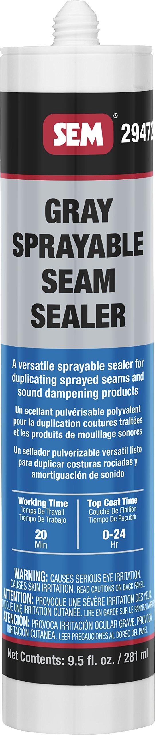 SEM 29472 Gray Seam Sealer, 9.5 Fluid_Ounces