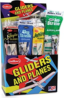 product image for Guillow Balsa Glider And Airplane Assortment Ages 6 And Up