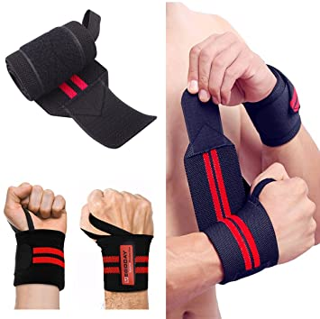 ... Stabilizer with Thumb Loops,Heavy Duty Compression Wristbands for Strength Muscle Training,Powerlifting,Bodybuilding,Gym: Health & Personal Care